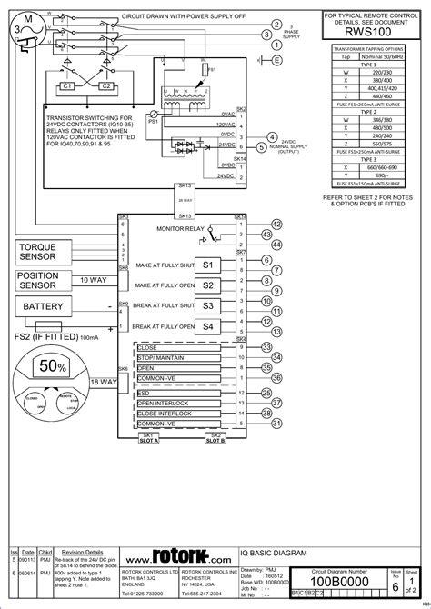 279d71 Rotork Actuator Wiring Diagram